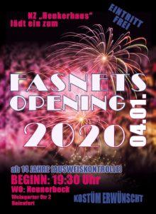Fasnetsopening - Für die Jugend von der Jugend @ Neunerbeck Baienfurt